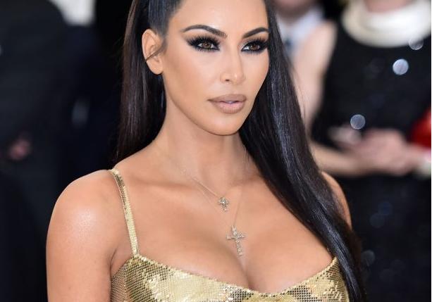 corps, Kim Kardashian, nus, Publie