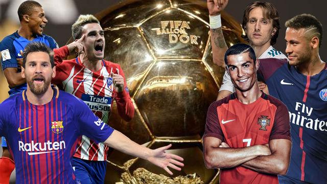 Ballon d'or, classement, France football