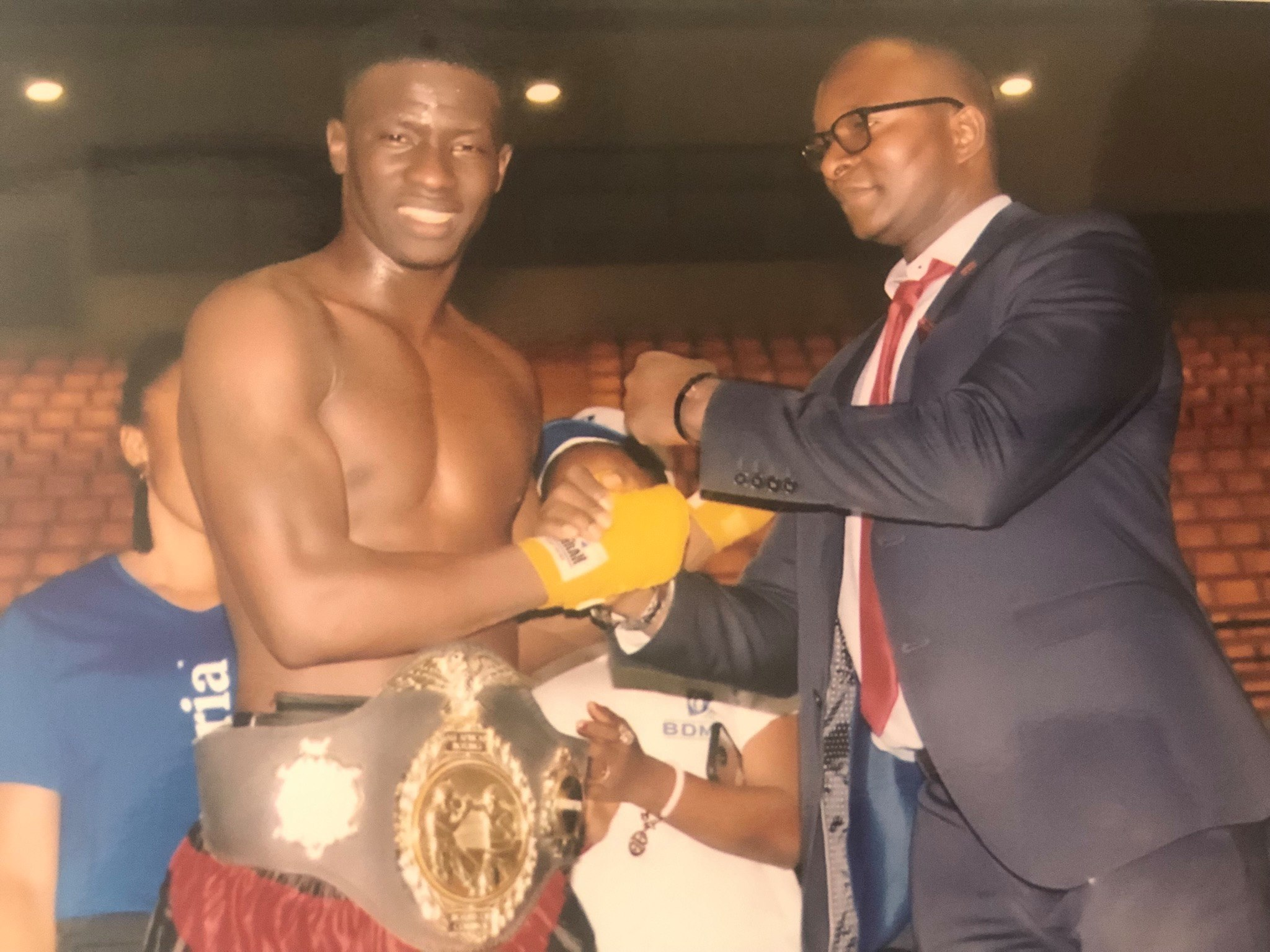 Boxe, pape Mamadou Sow, Photos, Sénégal, Sports