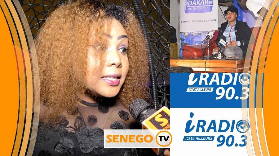 Amina Poté, mercato médiatique, senego tv