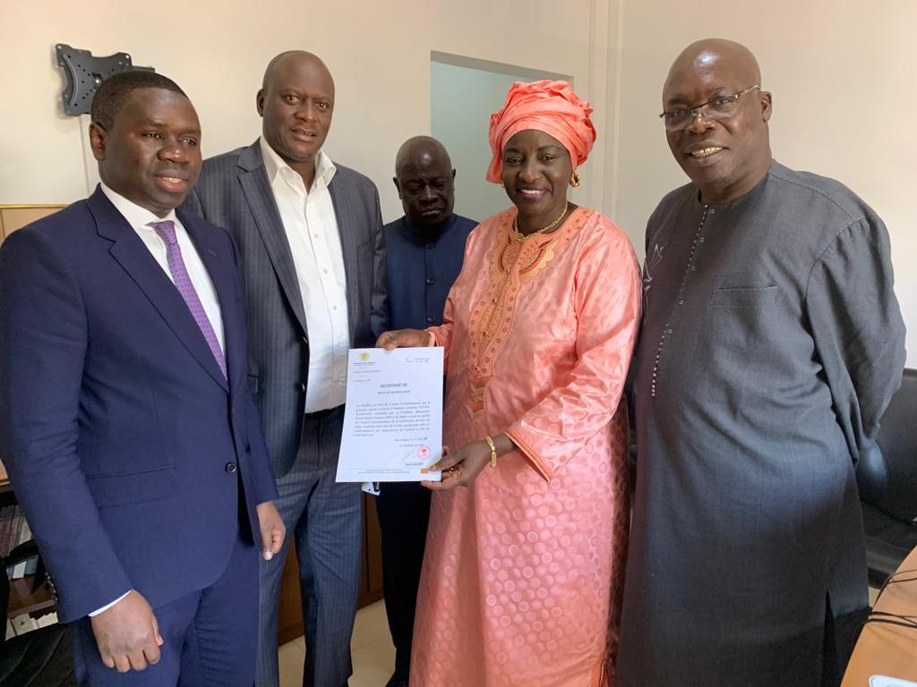 Aminata Touré, Candidature, Conseil constitutionnel, Macky Sall