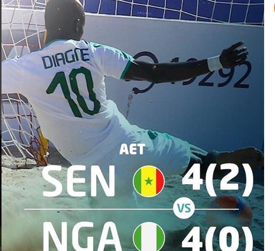 CAN beach soccer, Nigéria, Sénégal