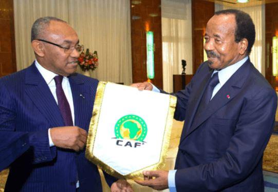 e Cameroun n'organisera pas le Coupe d'Afrique, En 2019, Le président de la CAF