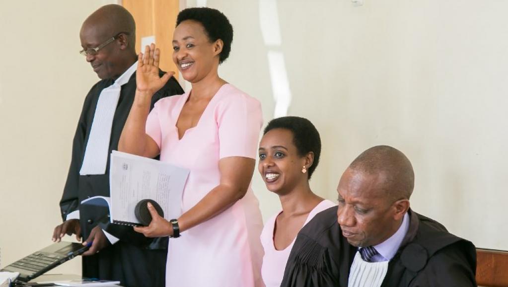 Diane Rwigara, L'opposante, Rwanda