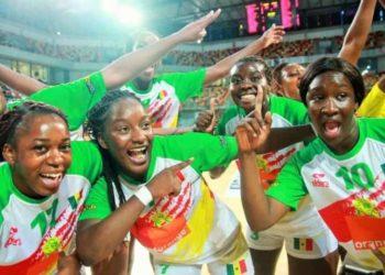 1/4 finales can handball, can handball 2018, lionnes du sénégal, Sénégal-Algérie