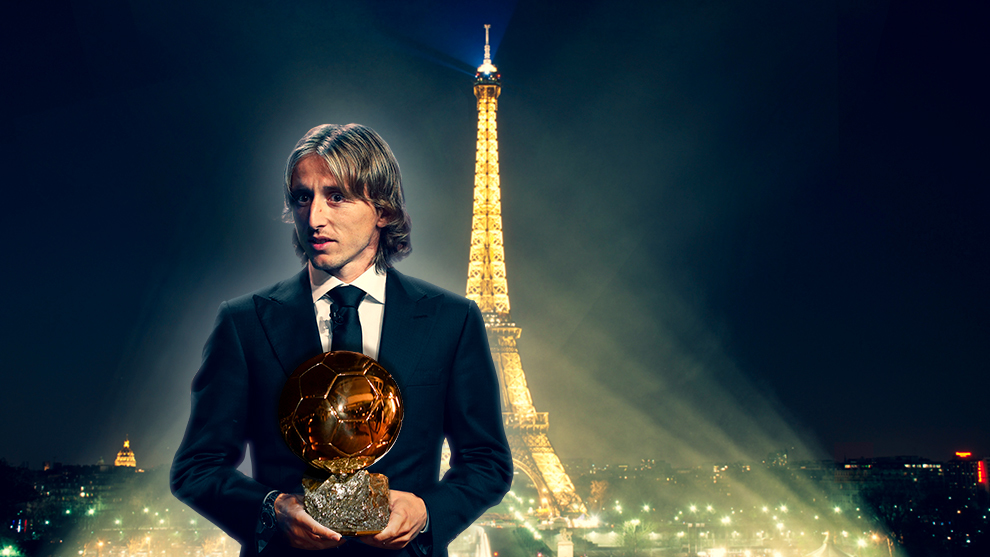 Ballon d'or 2018, Luca Modric, real Madrid