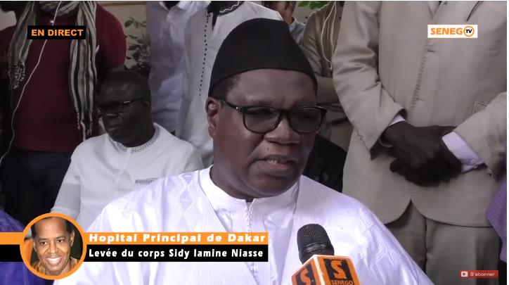 Ousmane Ngom, raconte une anecdote, Sidy Lamine Niass