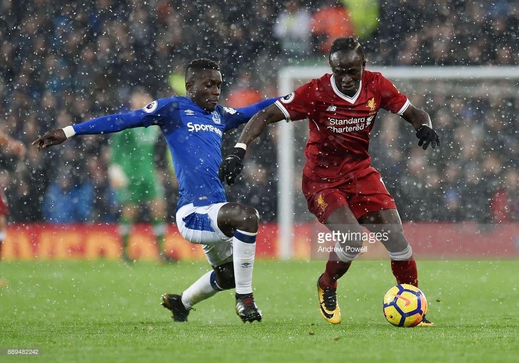 compositions, Football, Gana Gueye, Liverpool - Everton, Sadio Mané, Sénégal, Sports