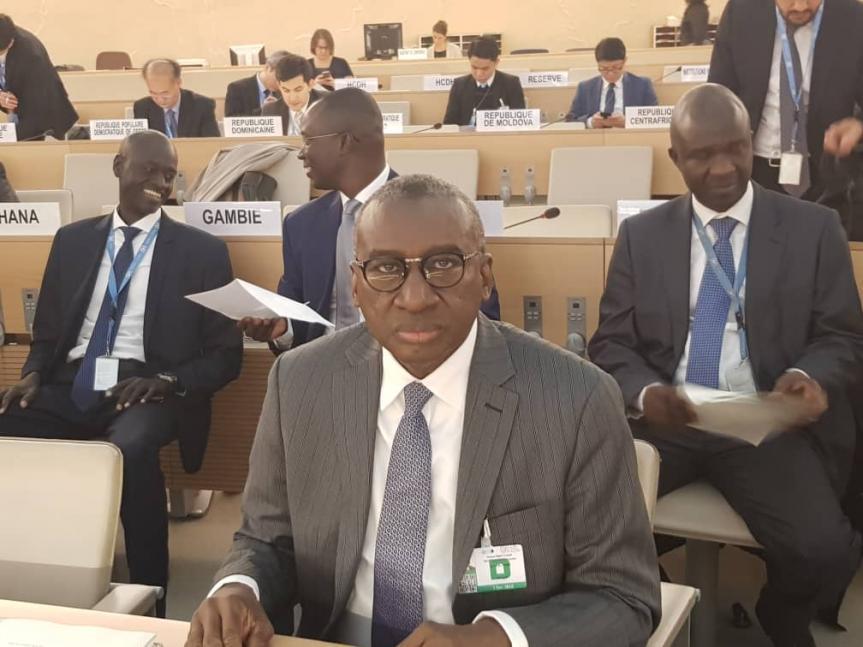 Conseil des droits de l'homme, Onu, sénégalais