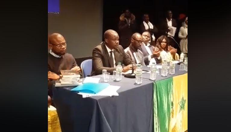 conférence, Italie, Ousmane Sonko