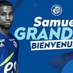 As Monaco, Samuel Grandsir, Strasbourg
