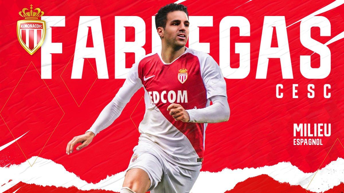 As Monaco, Cesc Fabregas, Football, Mercato, Sports