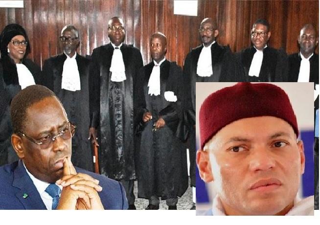Candidature, Conseil constitutionnel, d'éminents juristes, Karim Wade