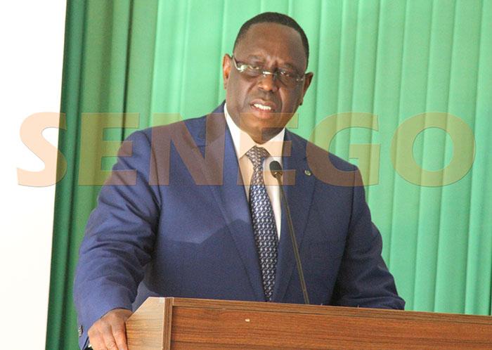 """""""Un Sénégal pour tous"""", Président Macky Sall"""