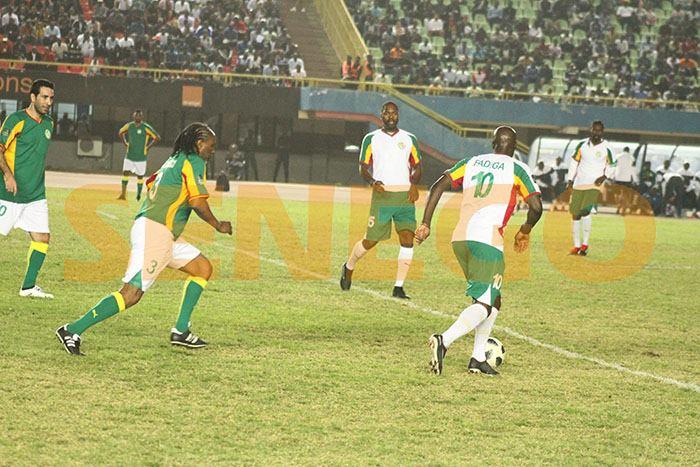 le match de gala, les légendes de la CAF, lions de 2002, Revivez en images