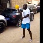 Football, joue, Modou Lo, respire la forme
