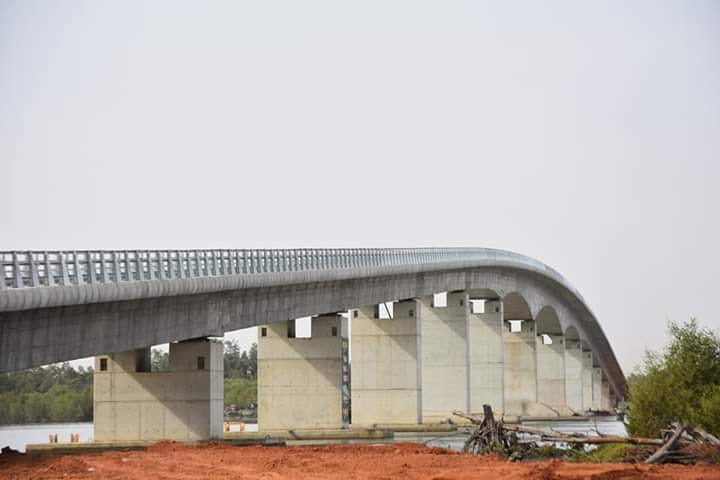 Photos, pont, Sénégambie