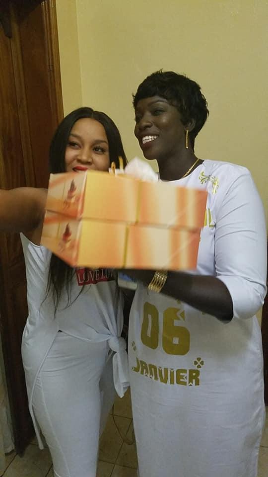 12 photos, de l'actrice, revivez l'ambiance de la fête d'anniversaire, Rouba Sèye