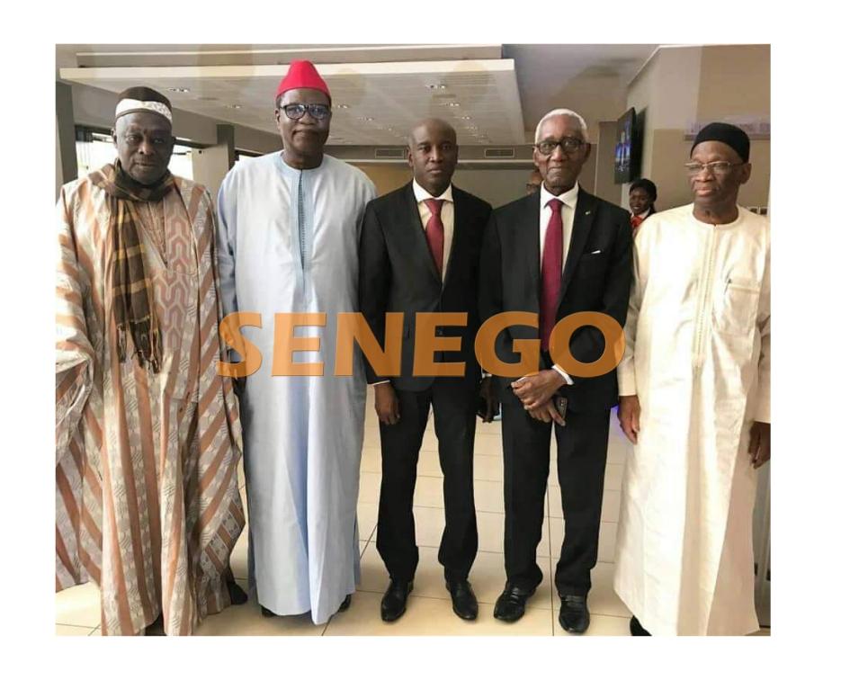 Aly Ngouille Ndiaye, anciens ministres de l'intérieur, Images, politique, Présidentielle 2019, Sénégal