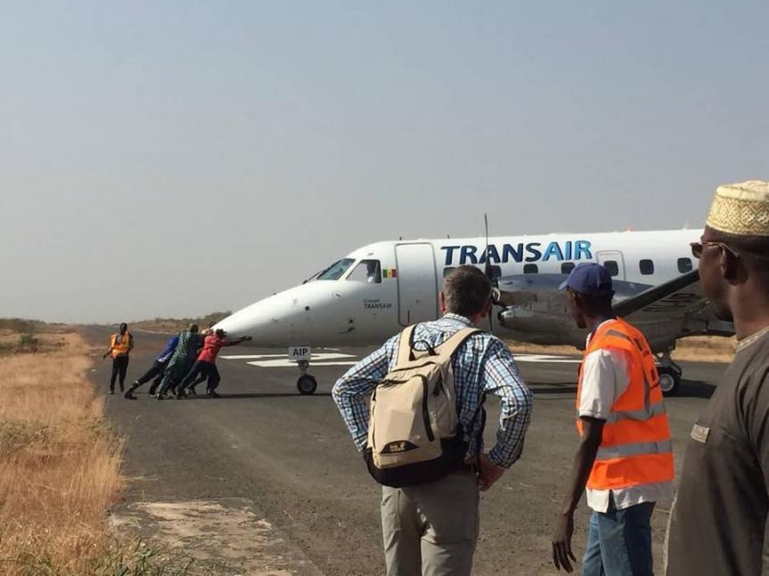 Aérodrome de Kolda, Défaut de balise, les blessés ne sont pas...