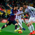 Barça, Liga, Real Valladolid
