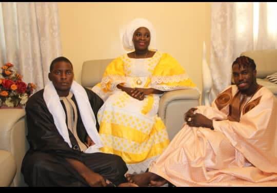 Pama Dieng, Sokhna Maimouna Karim Mbacké, Touba, Visite