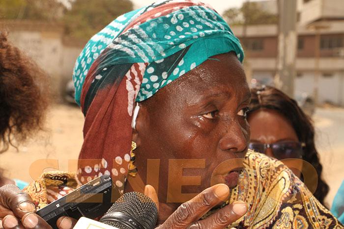 Gadaye, maisons détruites, mére de famille, Victime