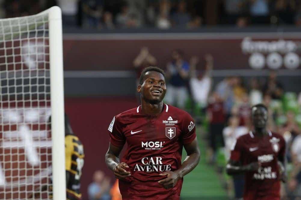 Football, Habib Diallo, Ligue 1, Metz, Sports