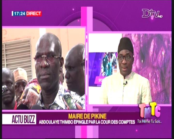 Abdoulaye Timbo, Carburant, Cour des comptes, mairie de pikine