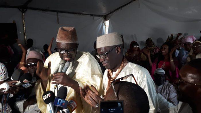 """abdoulaye diouf sarr, Le """"Garouwalé"""", Meeting de remerciement à Yoff, Moustapha Cissé Lo"""