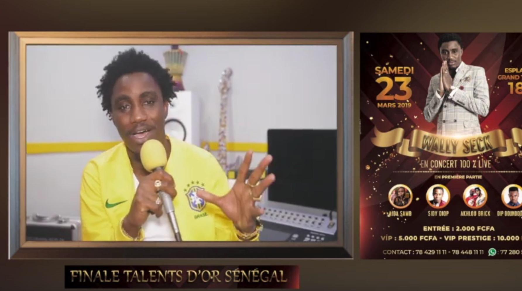 finale musique, Talents D'or, Wally seck