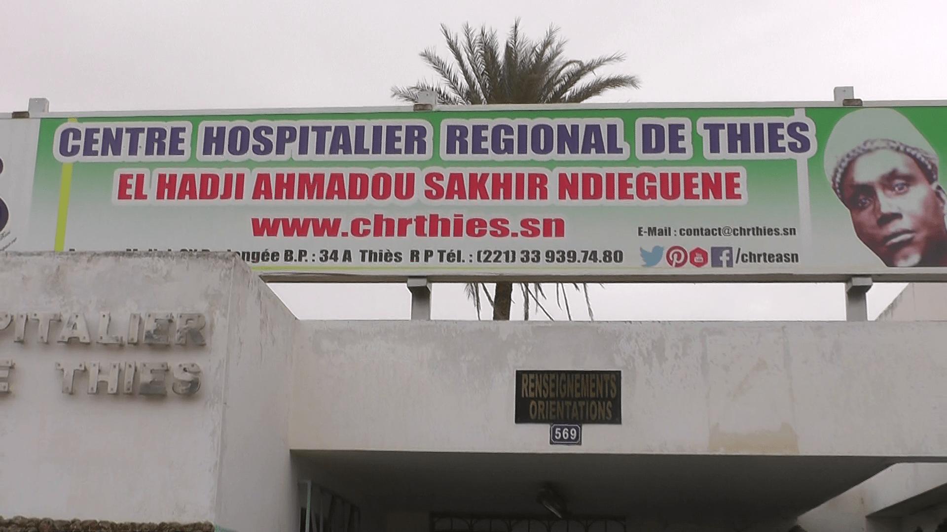 Hôpital régional de Thiès, Malde, santé