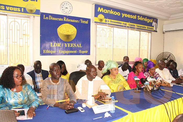 Appel au dialogue, coalition disso, Ldr yessal, Modou Diagne Fada, Présidentielle 2019