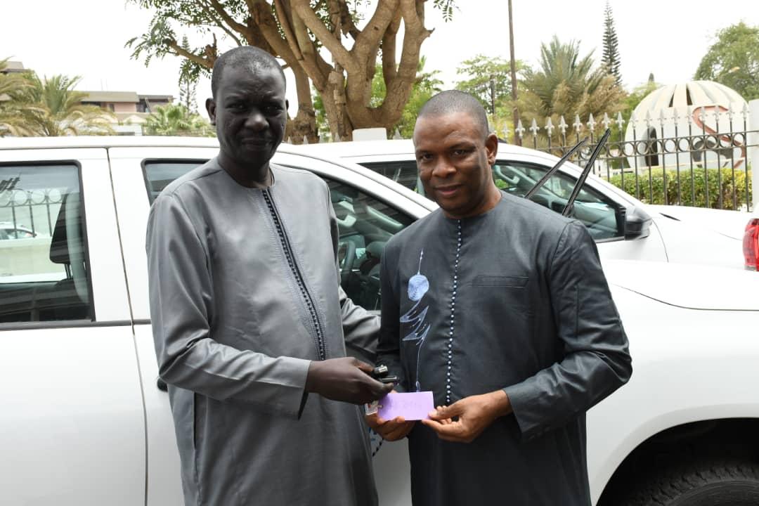 Abdoulaye D. Sarr, Activités de vaccination, avancée, Fixe, renforce les structures, stratégie fixe