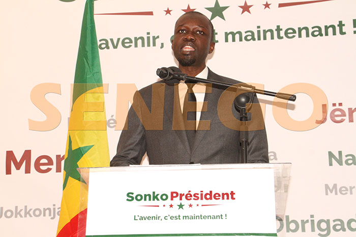 Mali, Ousmane Sonko