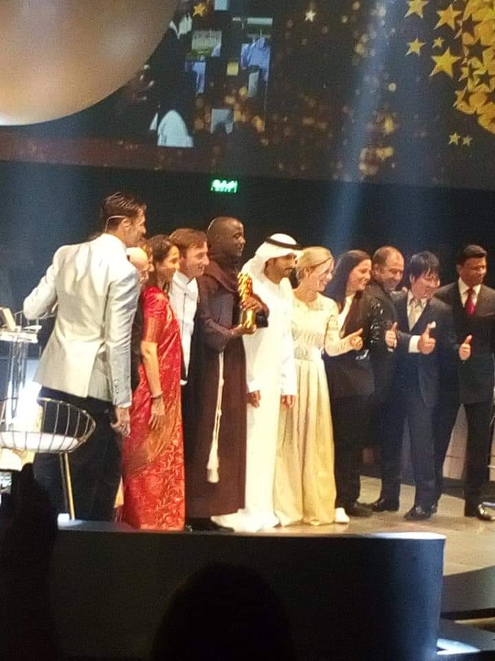 le global teacher, Peter Tabichi, Prix mondial de l'enseignant