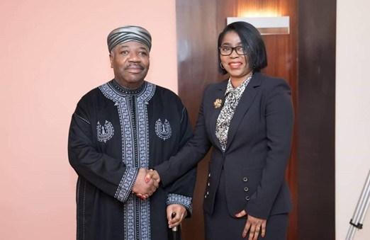 Ali Bongo, Gabon, retour