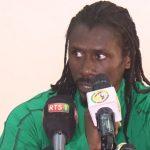 Aliou Cissé, Onze de départ, Sénégal-Mali