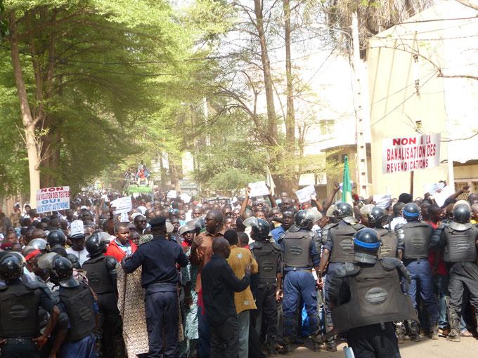 éducation, Grève enseignants, Mali