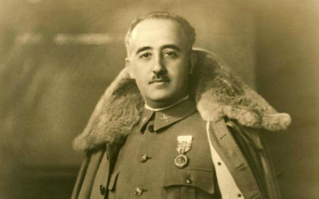 ancien dictateur Franco