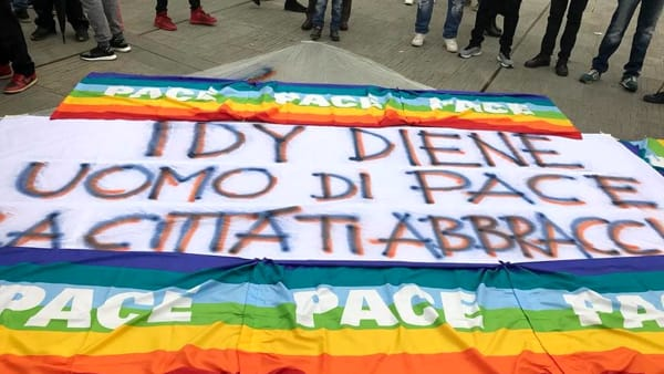 idy diene 2 - Italie indignée : Une plaque à la mémoire d'un Sénégalais vandalisée