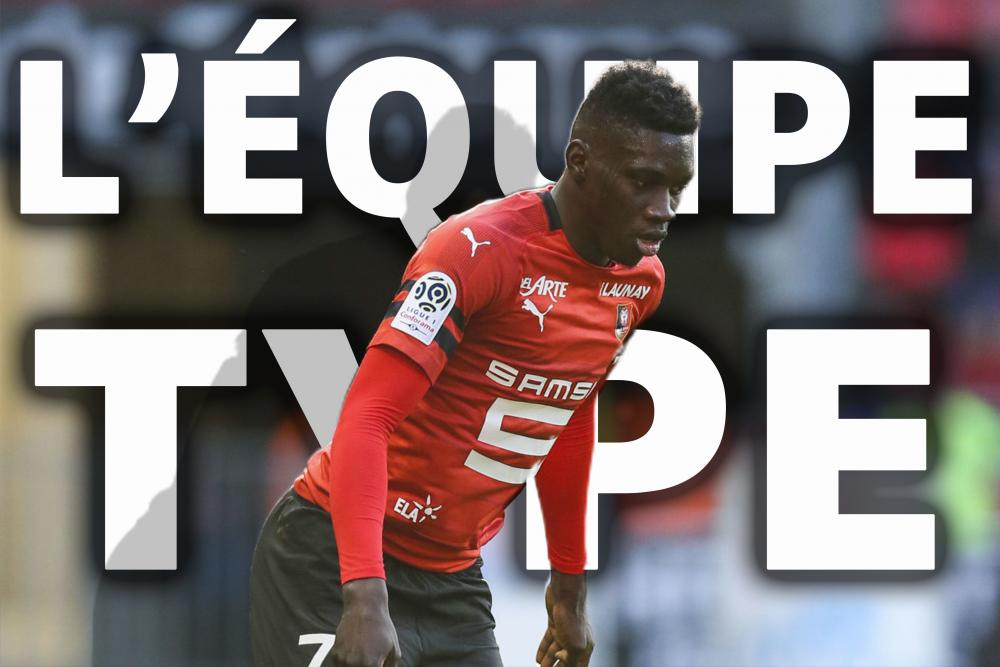 Ismaila Sarr, l'équipe type, Ligue 1