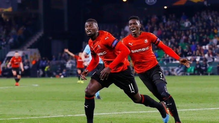 arsenal - rennes, compos arsenal rennes, Ismaila Sarr, Mbaye Niang