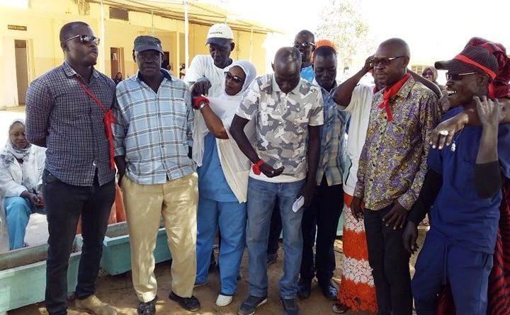 Hôpital Youssou Mbargane Diop, Première dame