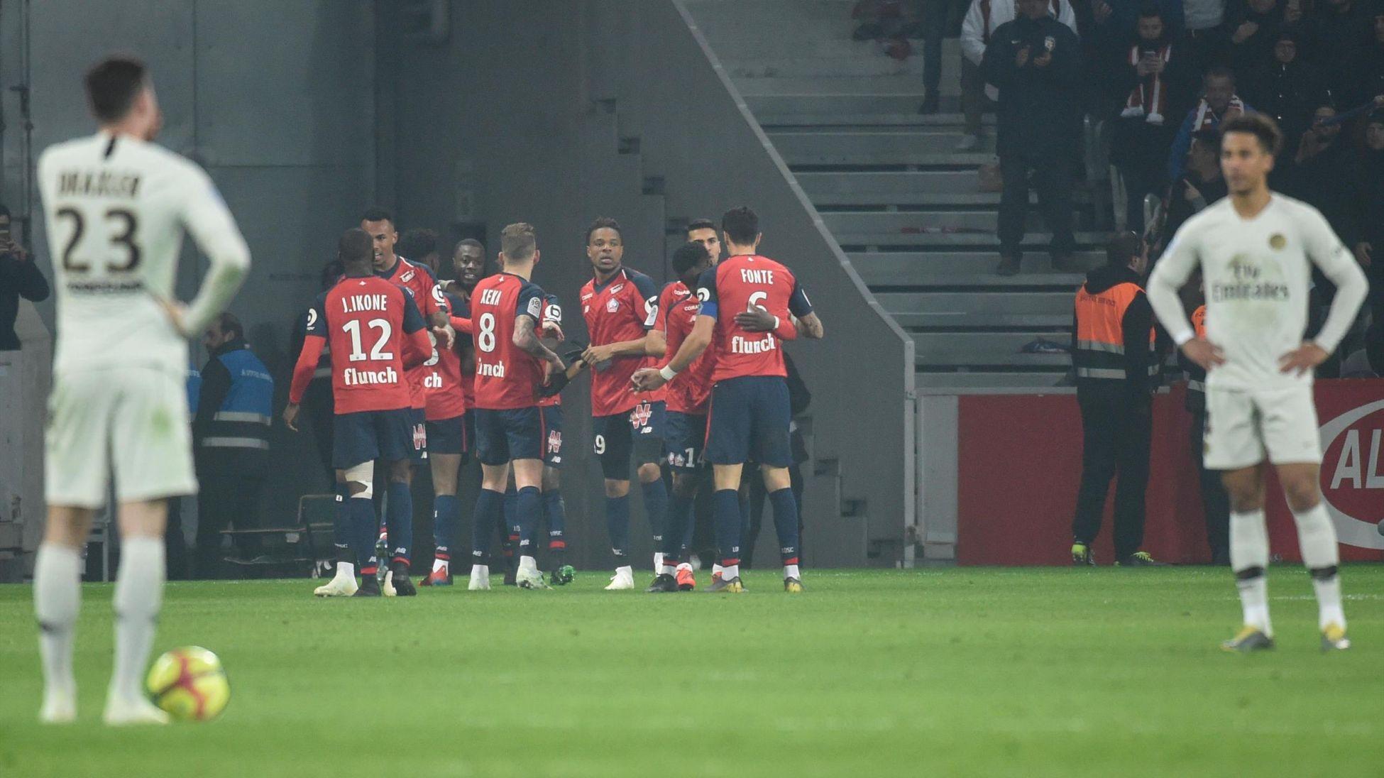Ligue 1, Lille, Paris