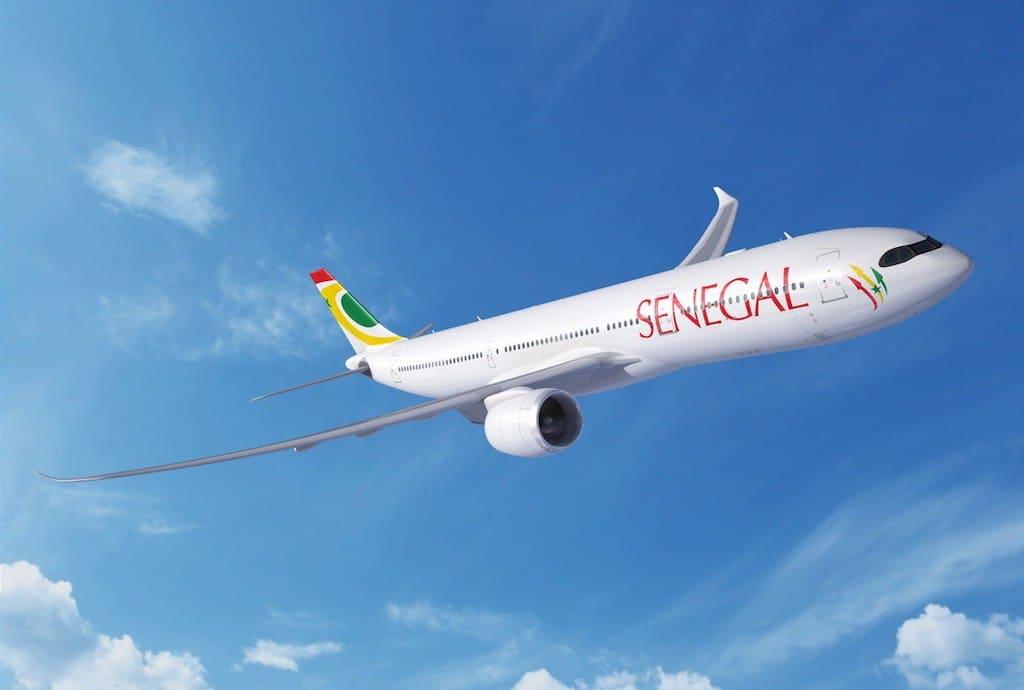 Aibd, Air Sénégal, avion