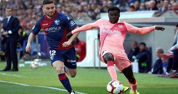 Barcelone, Champion d'Espagne, Football, Moussa Wagué, Sports