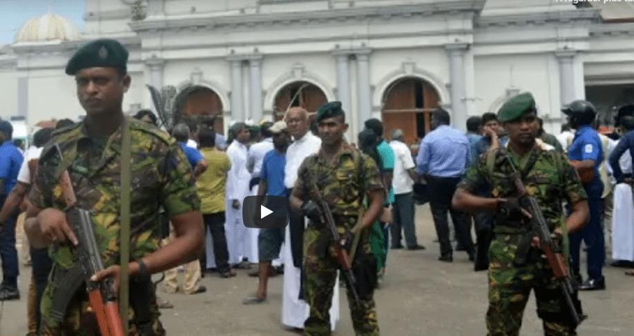 Au Sri Lanka, Explosions, Morts