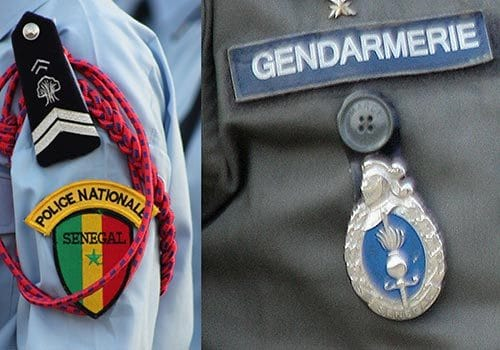 Fusion, gendarmarie, Police