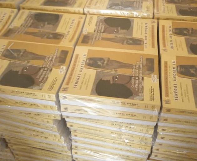 5 premiers volumes, Histoire générale du Sénégal